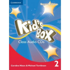Kid's Box Second Edition 2 Class CDs