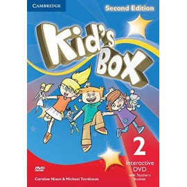 Kid's Box Second Edition 2 Interactive DVD + Teacher's Booklet