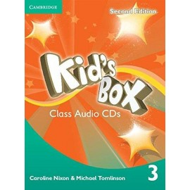Kid's Box Second Edition 3 Class CDs