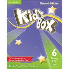 Kid's Box Second Edition 6 Activity Book + Online Resources
