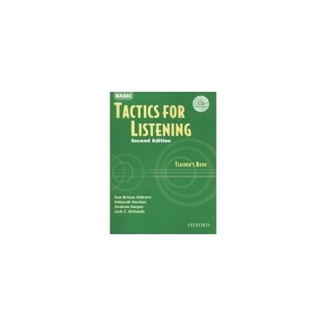 Basic Tactics for Listening Teacher's Book + CD Oxford University Press 9780194384537
