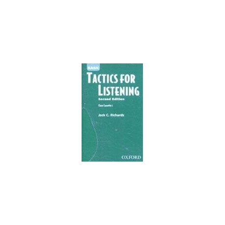 Basic Tactics for Listening Class Cassettes (3) Oxford University Press 9780194375276