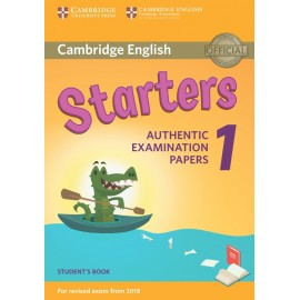 Cambridge English Young Learners 1 for Revised Exam from 2018 Starters Student's Book