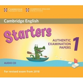 Cambridge English Young Learners 1 for Revised Exam from 2018 Starters Audio CD