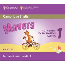 Cambridge English Young Learners 1 for Revised Exam from 2018 Movers Audio CDs