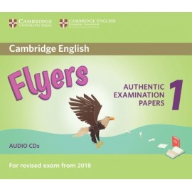 Cambridge English Young Learners 1 for Revised Exam from 2018 Flyers Audio CDs