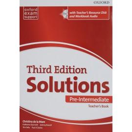 Maturita Solutions Third Edition Pre-Intermediate Teacher's Book + DVD-ROM