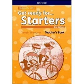 Get Ready for Starters Second Edition Teacher's Book with Classroom Presentation Tool