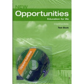 New Opportunities Intermediate Test Book + CD