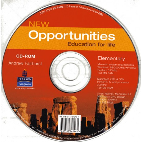New Opportunities Elementary CD-ROM