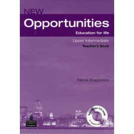 New Opportunities Upper-intermediate Teacher's Book with Test Master CD-ROM