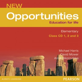 New Opportunities Elementary Class Audio CD