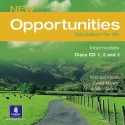 New Opportunities Intermediate Class Audio CD
