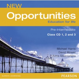 New Opportunities Pre-intermediate Class Audio CD