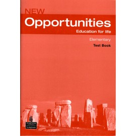 New Opportunities Elementary Test Book + CD