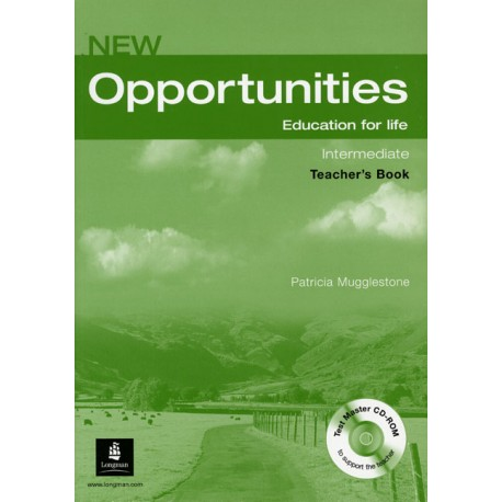New Opportunities Intermediate Teacher's Book with Test Master CD-ROM