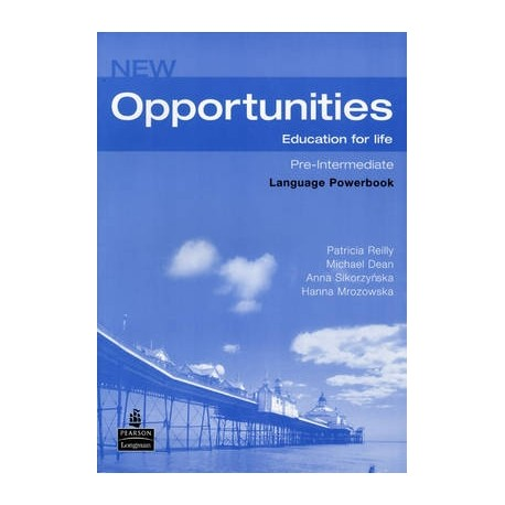 New Opportunities Pre-intermediate Language Powerbook + CD-ROM Česká verze