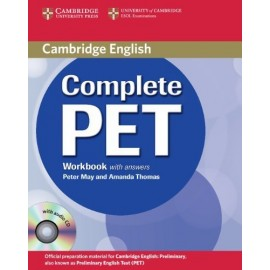Complete PET Workbook with answers + Audio CD