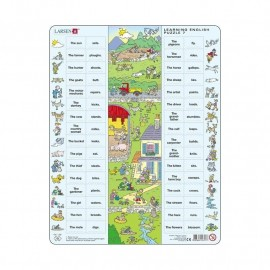 Larsen: Learning English Puzzle Maxi 7
