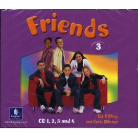 Friends 3 Class Audio CDs (4)
