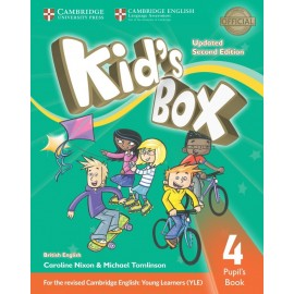 Kid's Box Updated Second Edition 4 Pupil's Book