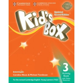 Kid´s Box Updated Second Edition 3 Activity Book with Online Resources