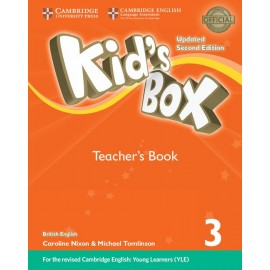 Kid's Box Updated Second Edition 3 Teacher's Book