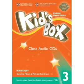 Kid's Box Updated Second Edition 3 Class Audio CDs
