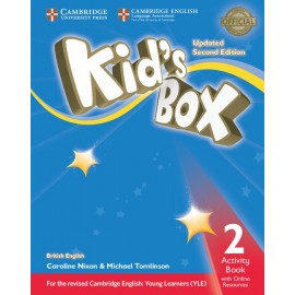 Kid's Box Updated Second Edition 2 Activity Book with Online Resources