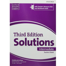 Maturita Solutions Third Edition Intermediate Teacher's Book + DVD-ROM