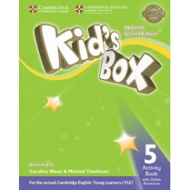 Kid's Box Updated Second Edition 5 Activity Book with Online Resources