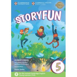 Storyfun for Flyers 5 Second Edition Student's Book with Online Activities and Home Fun Booklet 5