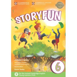 Storyfun for Flyers 6 Second Edition Student's Book with Online Activities and Home Fun Booklet 6