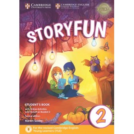Storyfun for Starters 2 Second Edition Student's Book with Online Activities and Home Fun Booklet 2