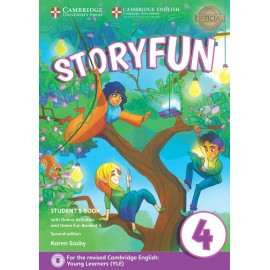 Storyfun for Movers 4 Second Edition Student's Book with Online Activities and Home Fun Booklet 4