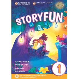 Storyfun for Starters 1 Second Edition Student's Book with Online Activities and Home Fun Booklet 1