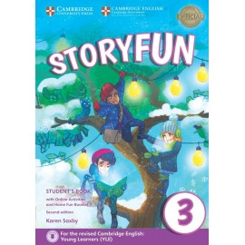 Storyfun for Starters 3 Second Edition Student's Book with Online Activities and Home Fun Booklet 3