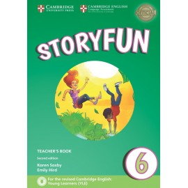 Storyfun for Flyers 6 Second Edition Teacher's Book with Audio