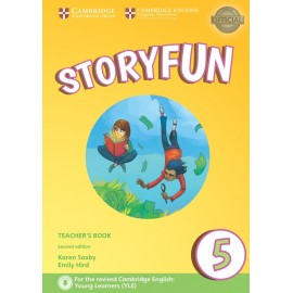 Storyfun for Flyers 5 Second Edition Teacher's Book with Audio
