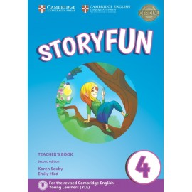 Storyfun for Movers 4 Second Edition Teacher's Book with Audio
