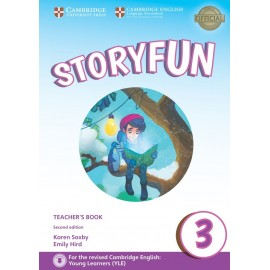 Storyfun for Movers 3 Second Edition Teacher's Book with Audio