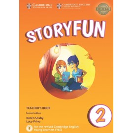 Storyfun for Starters 2 Second Edition Teacher's Book with Audio