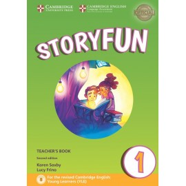 Storyfun for Starters 1 Second Edition Teacher's Book with Audio