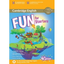 Fun for Starters Fourth edition Student´s Book with Home Fun Booklet and online activities