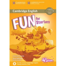 Fun for Starters Fourth edition Teacher´s book with downloadable audio