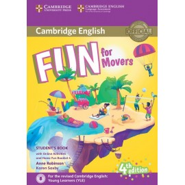 Fun for Movers Fourth edition Student´s Book with Home Fun Booklet and online activities