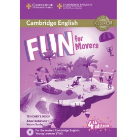 Fun for Movers Fourth edition Teacher´s Book with downloadable audio