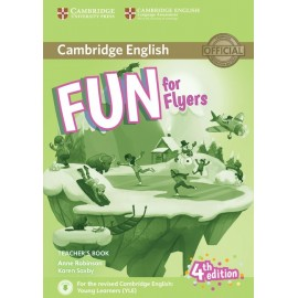 Fun for Flyers Fourth edition Teacher´s Book with downloadable audio