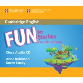 Fun for Starters Fourth edition Audio CD