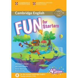 Fun for Starters Fourth edition Student´s Book with audio online activities